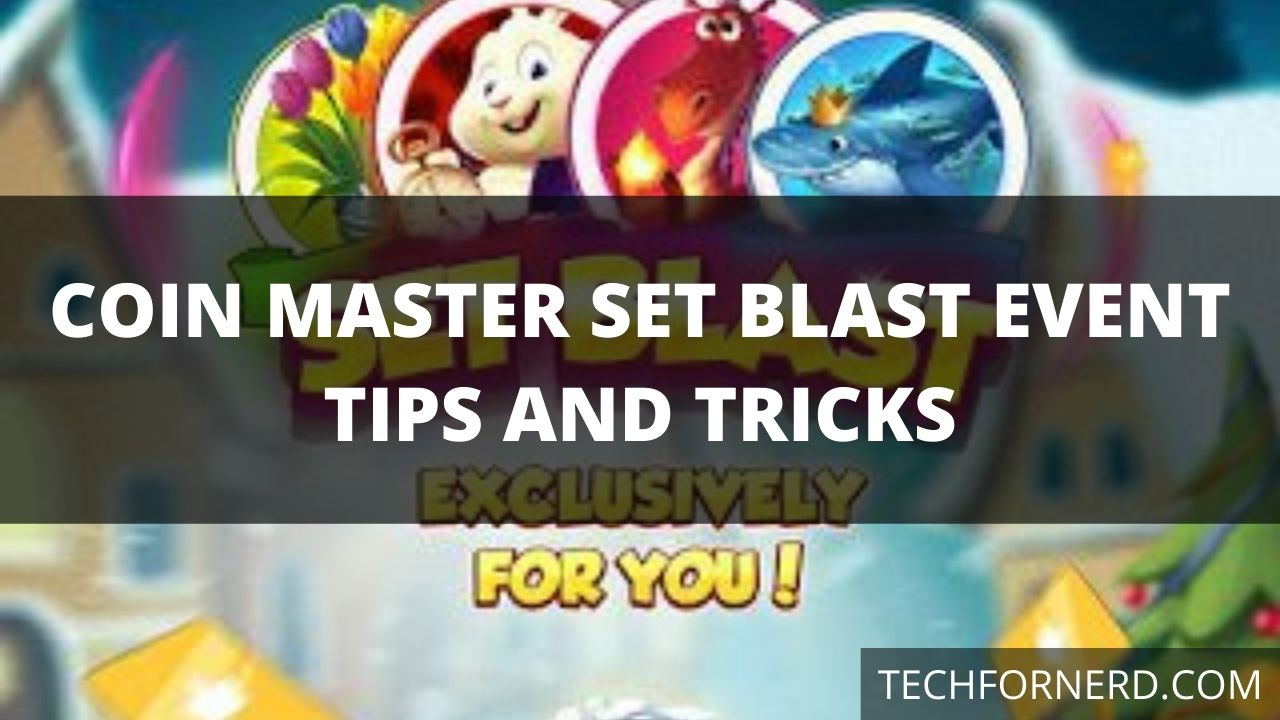 Coin Master Set Blast event