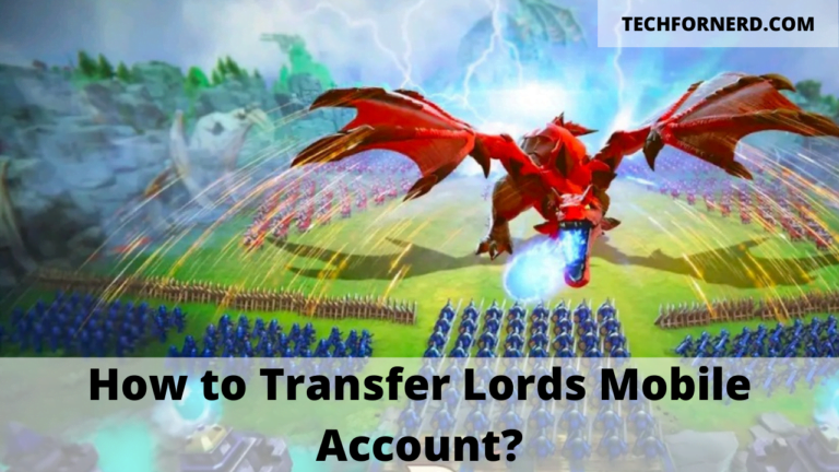Transfer Lords Mobile Account