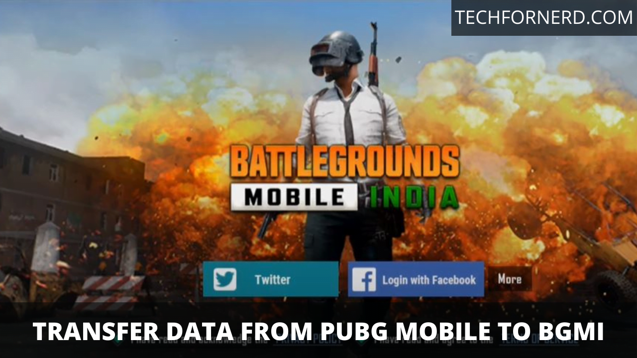 transfer your data from Pubg Mobile