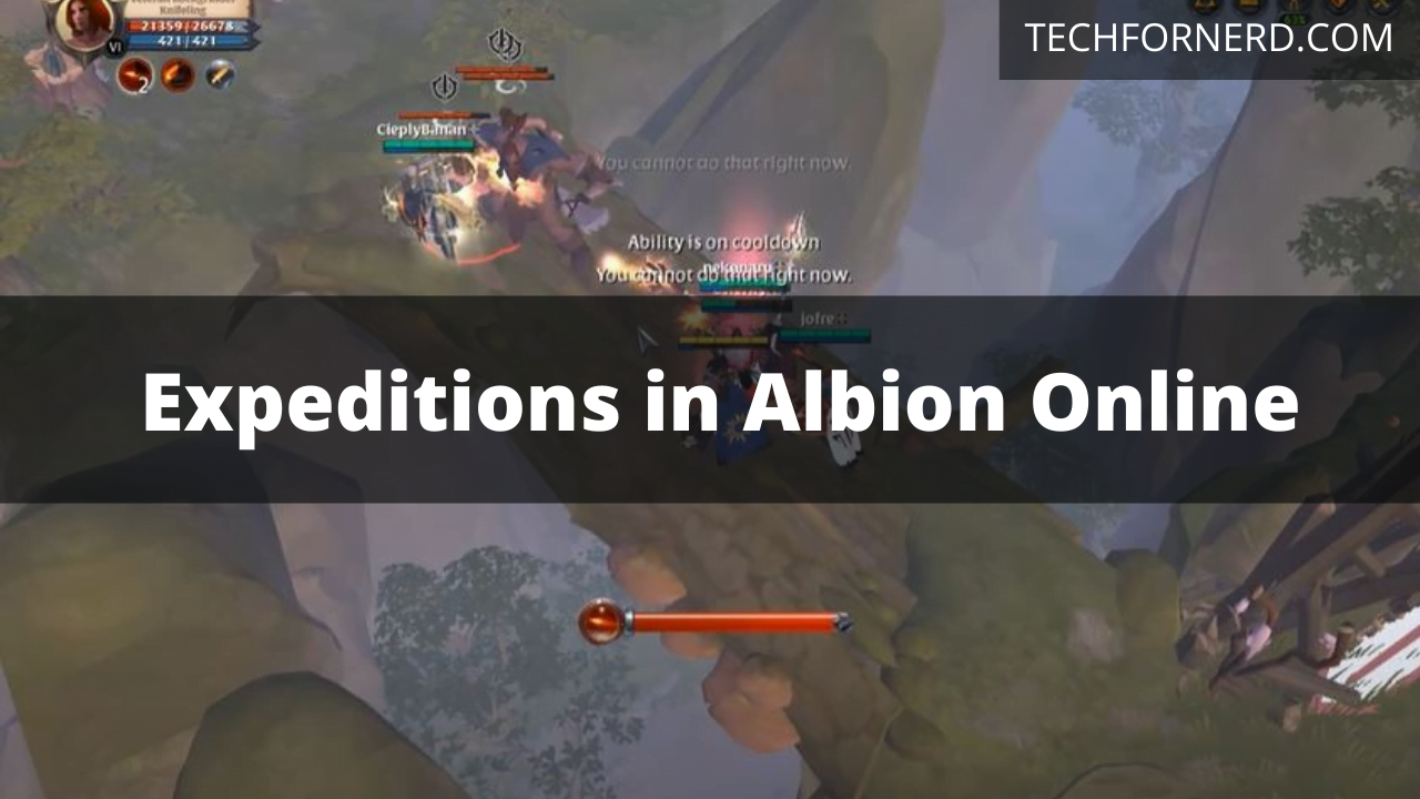 Expeditions in Albion Online