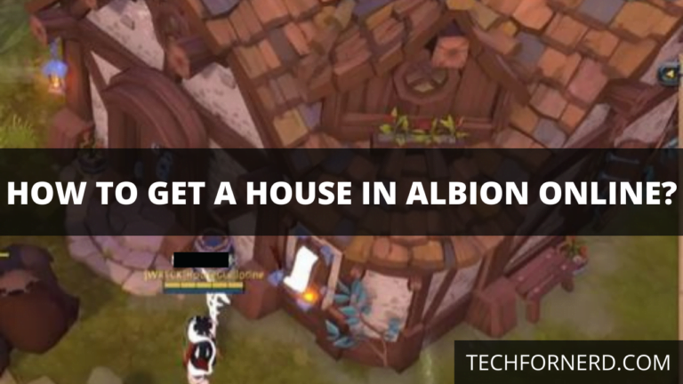 get a House in Albion Online