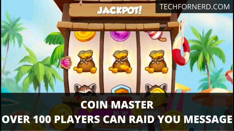 Over 100 Players can raid you