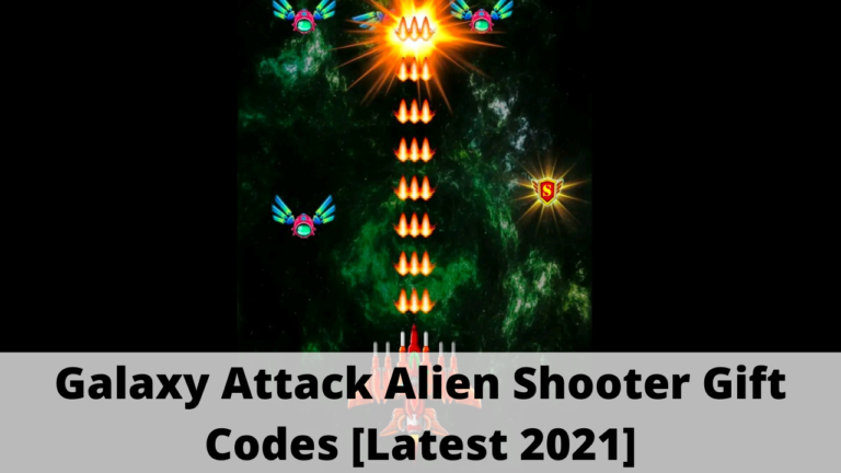 Galaxy Attack Alien Shooter Gift Codes