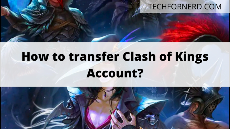 transfer clash of kings account