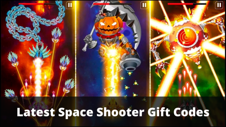 Space Shooter Gift Codes