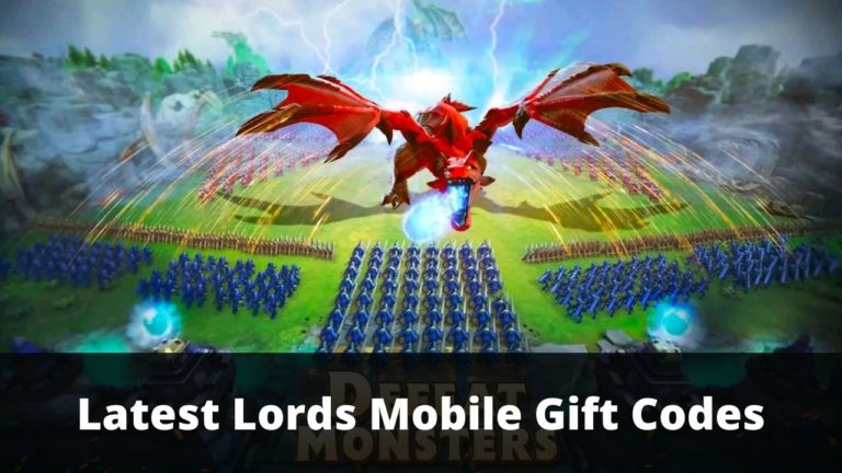 Lords Mobile Gift Codes