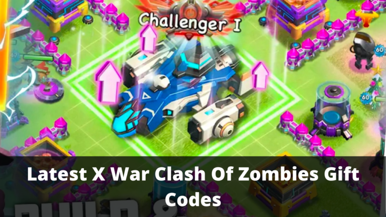 X War Clash Of Zombies Gift Codes